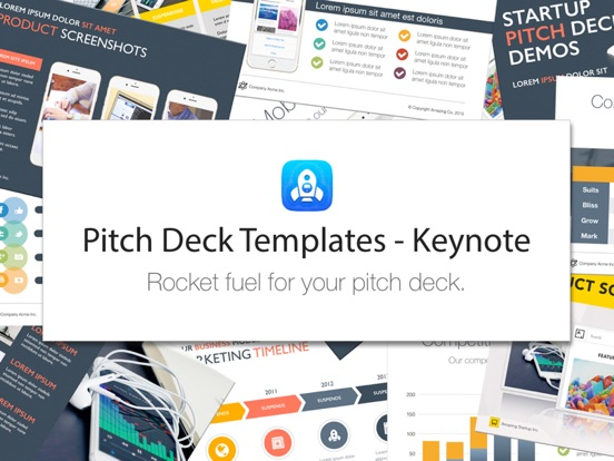 Pitch Deck Templates For Keynote App Price Drops - Keynote deck templates