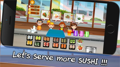 Cooking Chef Bar Sushi Deluxe screenshot one