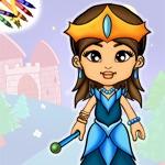 Prinsessen Papieren Pop Kleurboek