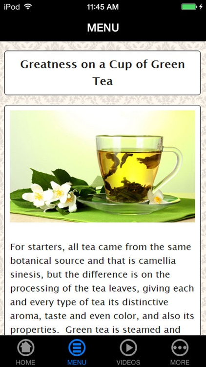 The Only Green Tea Resources You Will Ever Need screenshot-3