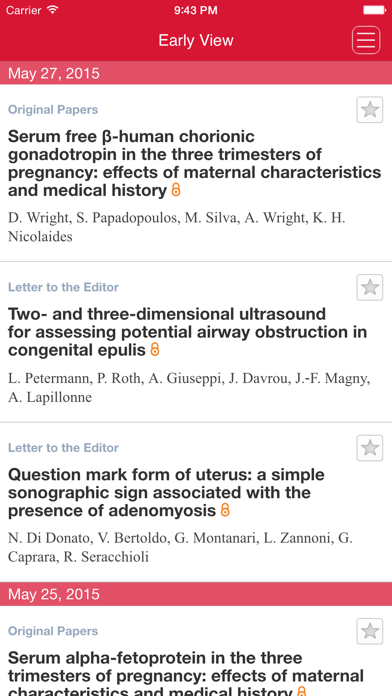 Ultrasound in Obstetrics and Gynecology App screenshot two