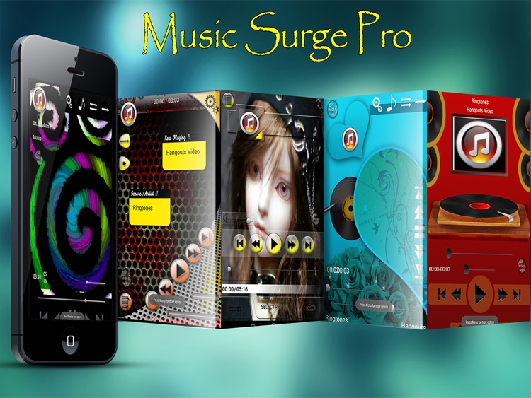 Music Skins For iPad - Music Surge