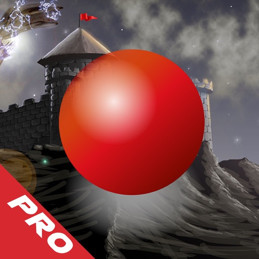 Red Ball Medieval Bouncing PRO : Avoid Spikes