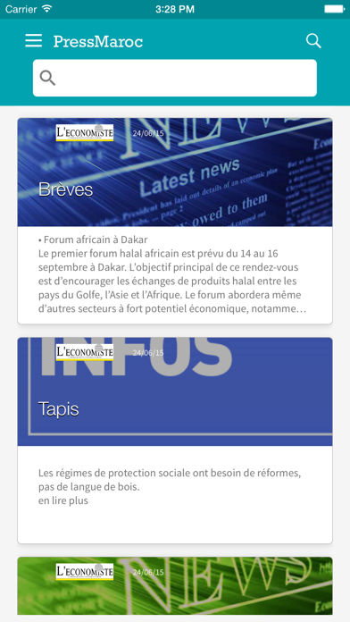 PressMaroc - Actualité en direct - Presse marocaine et infos en live screenshot one