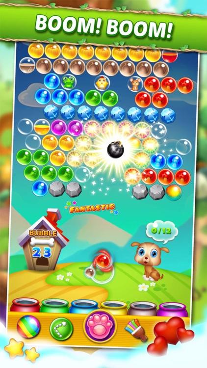 Land Pet Pop 2015: Bubble Shooter Match 3 Adventure Free screenshot-4