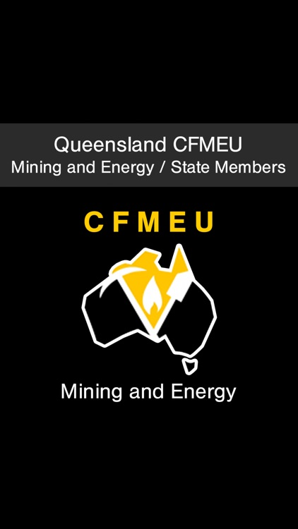 Queensland CFMEU Mining and Energy State Members screenshot-0