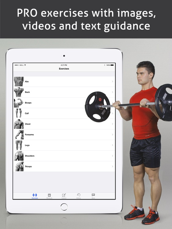 Go Fitness Pro HD screenshot-0