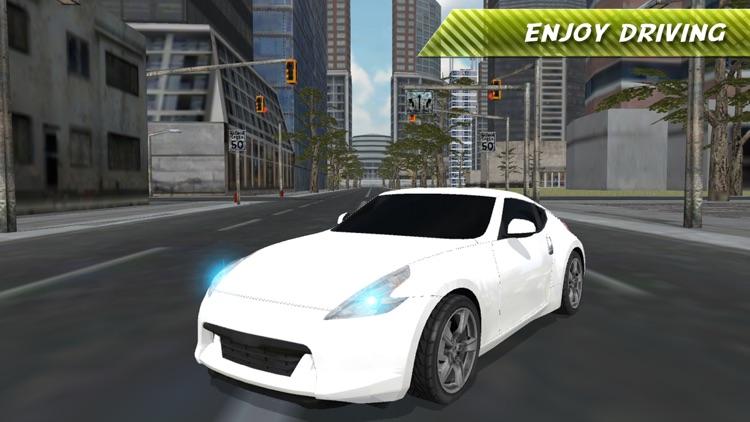Real Fast Car Driving Simulator screenshot-4