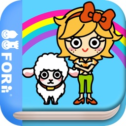Mary had a little lamb (FREE)  -Jajajajan Kids Song & Coloring picture book series