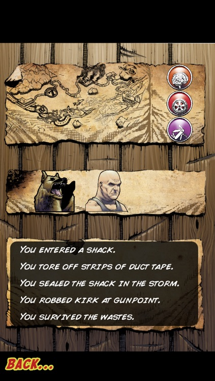 This Is Not a Test: A Survival RPG Comic screenshot-4