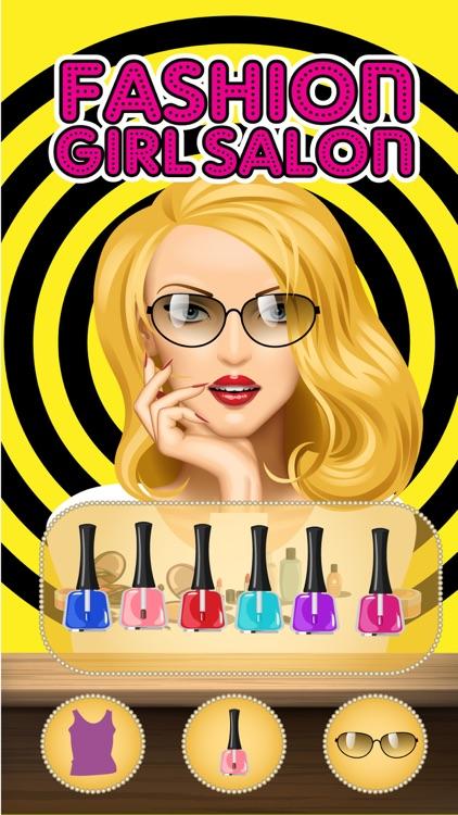 Fashion Girl Salon -Beauty Salon, Dress Up,Make Up & Hair Salon Makeover game