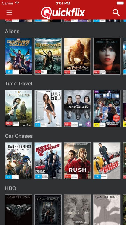 Quickflix : DVD and Blu-ray Rental, Movies & TV Shows Home Delivered