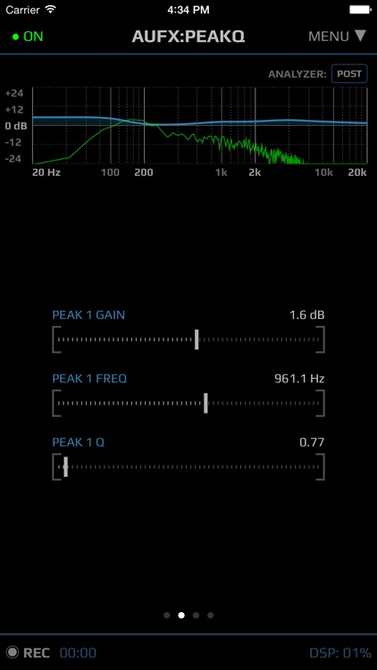 AUFX:PeakQ screenshot-1