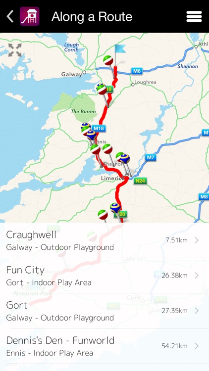 Playground GPS Ireland screenshot-2
