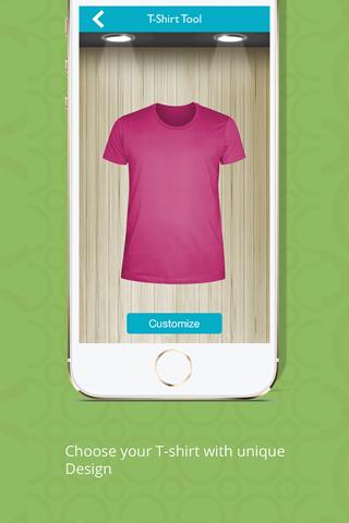 T-Shirt Designer Tool App screenshot 3