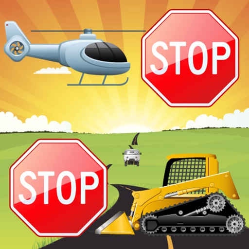 Vehicles Games for Toddlers and Kids : Cars, Trucks and Tractors !