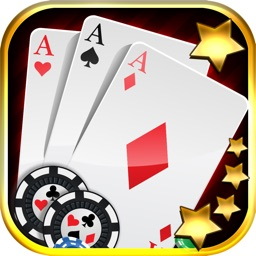 """""""Aces Gallina Video Poker Stars"""" - Hit The House In A Vegas Style Casino Cards Game!"""