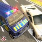 Polícia Mini Bus Crime Perseguição icon