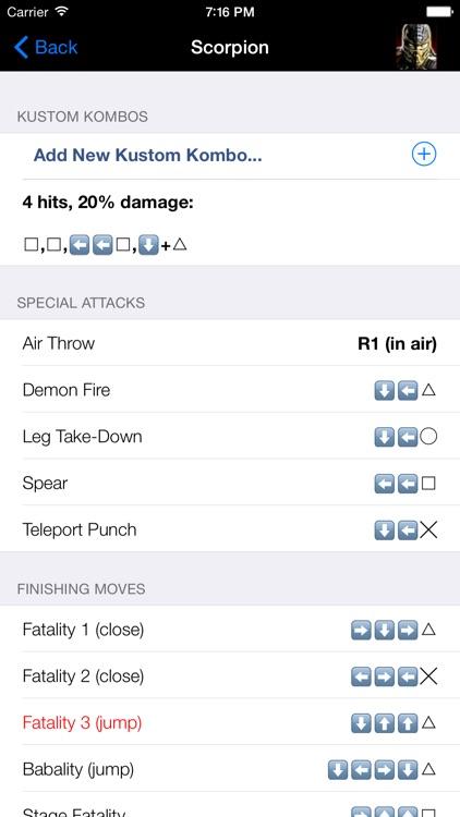 Pocket Guide - Mortal Kombat Edition screenshot-4