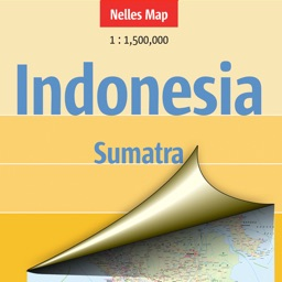 Indonesia: Sumatra. Tourist map.