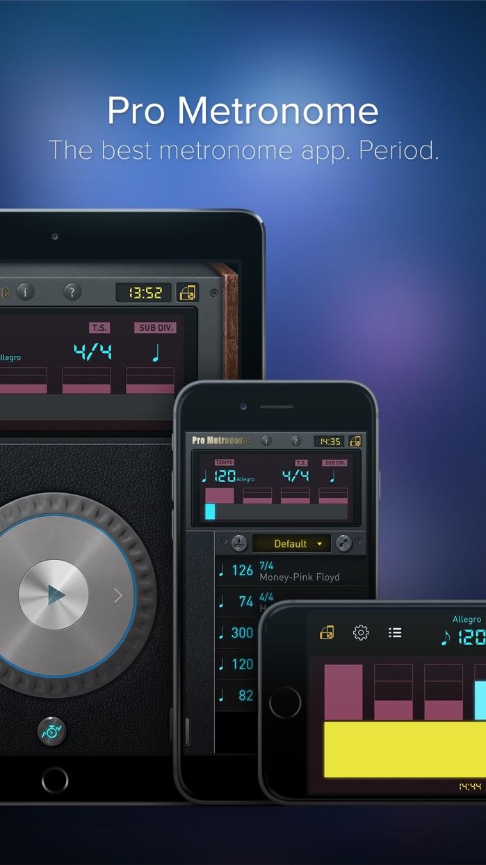 Pro Metronome - Tempo,Beat,Subdivision,Polyrhythm Screenshot