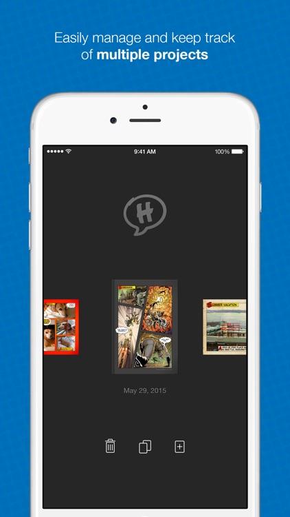 Halftone 2 - Comic Book Creator screenshot-4