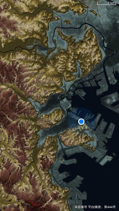 横濱時層地図 screenshot1