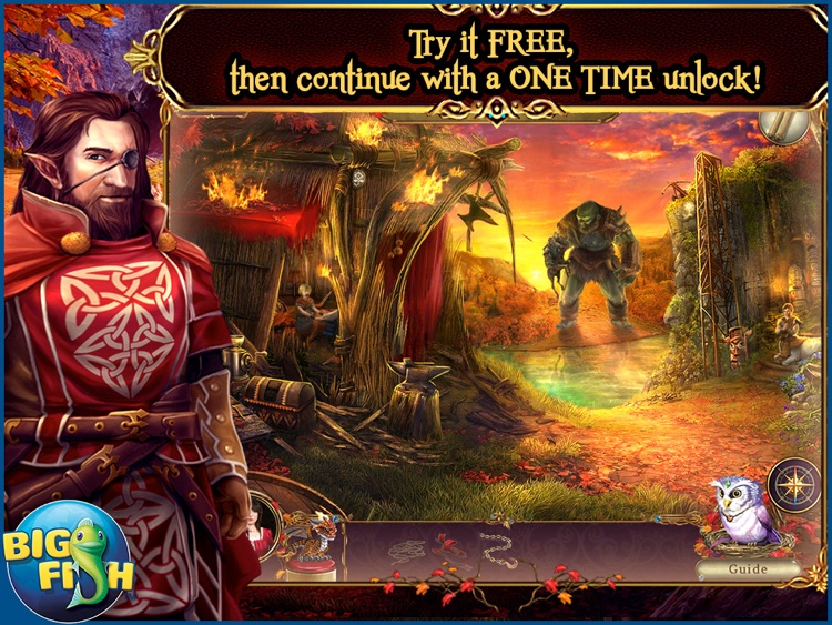 Awakening: The Redleaf Forest HD - A Magical Hidden Object Adventure screenshot-0
