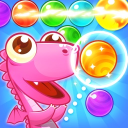 Bubble Revels - dinosaur shooter rescue babies adventure