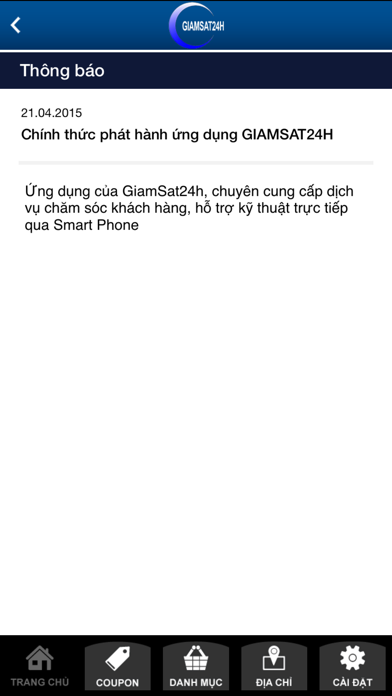 Giám sát 24h Screenshot on iOS