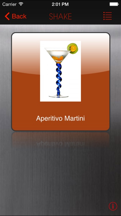 SHAKE : Martini Recipes screenshot-1