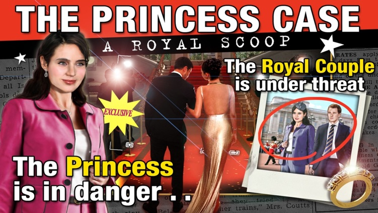 The Princess Case - A Royal Scoop - A Hidden Object Adventure screenshot-0