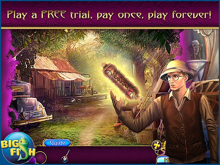 Amaranthine Voyage: The Shadow of Torment HD - A Magical Hidden Object Adventure screenshot-0