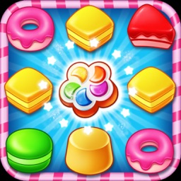 Crunch Kandy Boom HD-Match and Crush Cookies