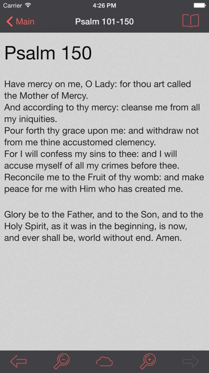 Catholic Psalter of the Blessed Virgin Mary screenshot-3