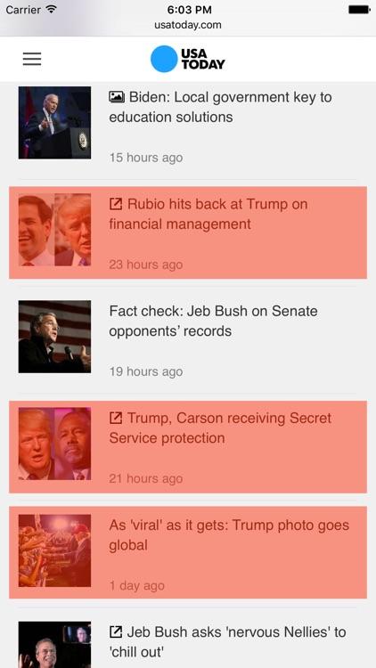 Trump Trump - Block Trump content