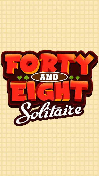 Forty Eight Solitaire Free Card Game Forty Eight Classic Solitare Solo screenshot one