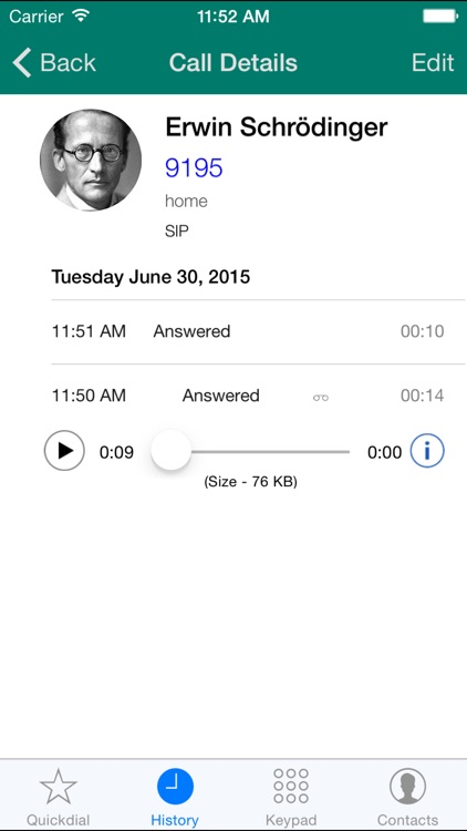 Acrobits Softphone - SIP phone for VoIP calls screenshot-3