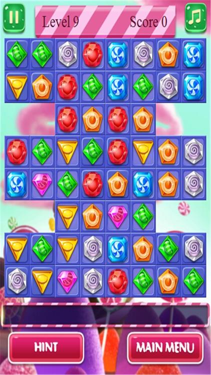 Diamond Match3 - hot jewel games screenshot-3