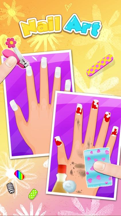 Nail Party Makeover and Nail Salon - girls game screenshot-3