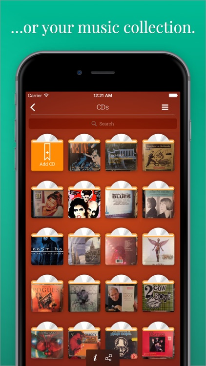 Evershelf - Organize Books, CDs, vinyl records, and movies - search your shelves - share your collections!