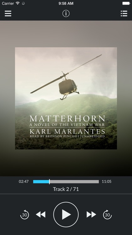 Matterhorn: A Novel of the Vietnam War (by Karl Marlantes) (UNABRIDGED AUDIOBOOK)