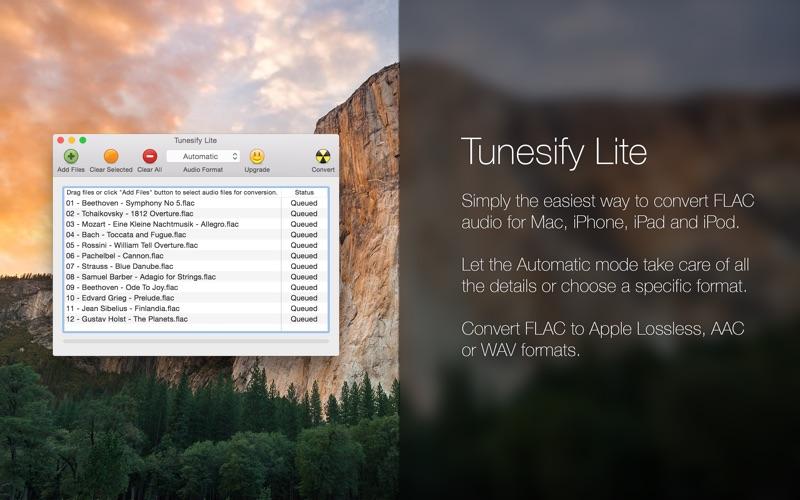 Tunesify Lite Screenshot
