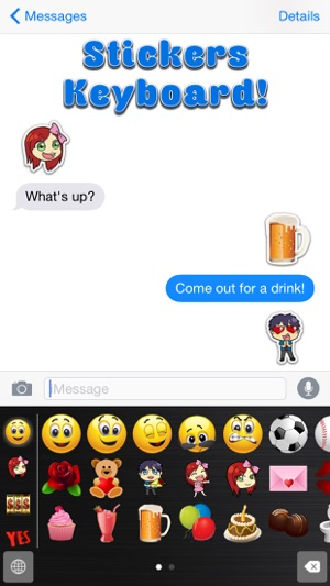 Big Emoji Keyboard Stickers For Messages Texting Facebook On