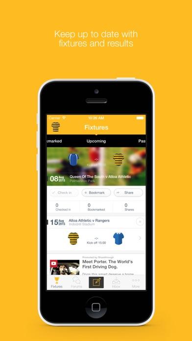 Fan App for Alloa Athletic FC screenshot three