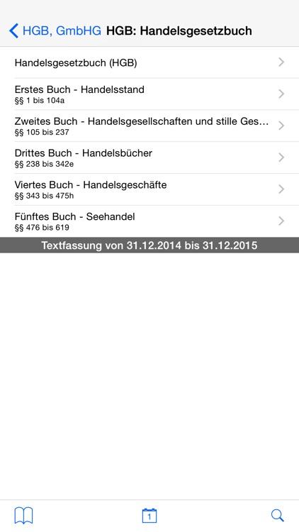 Handelsgesetzbuch, GmbH-Gesetz