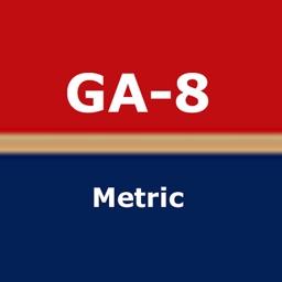 GA-8 Airvan (metric) Weight and Balance Calculator