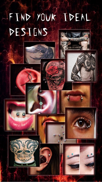 download Piercing & Tattoo Catalog FREE - Yr Design Ideas of Body Art Inked or Pierced apps 2