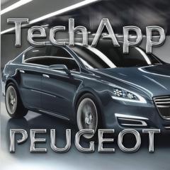 TechApp for Peugeot