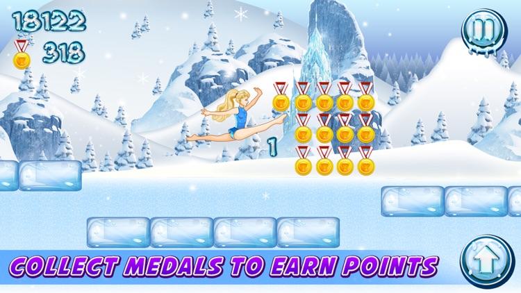 Ice Queen Adventure Gymnastics! screenshot-3